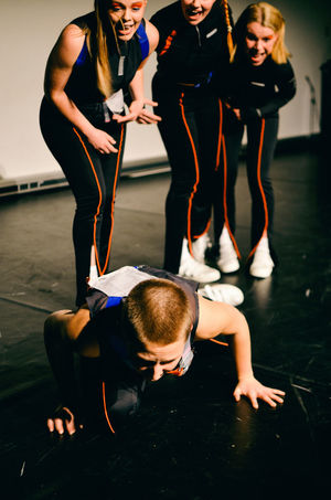 ROBUST @Quongafest17 Aarhus, Denmark Aarhus, Denmark Fight Force Futuristic Hands HeadDown Looking Down Perspectives On People Action Bully Fall Down Future Indoors  On The Ground Orange Color Performance Performance Art Real People Rebel Robust Short Hair Shouting Standing Women Young Women