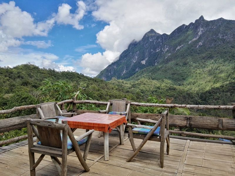 Chiang Dao Chiang Mai   Thailand Mountain National Park Nature Relax Scenery Scenics View Viewpoint