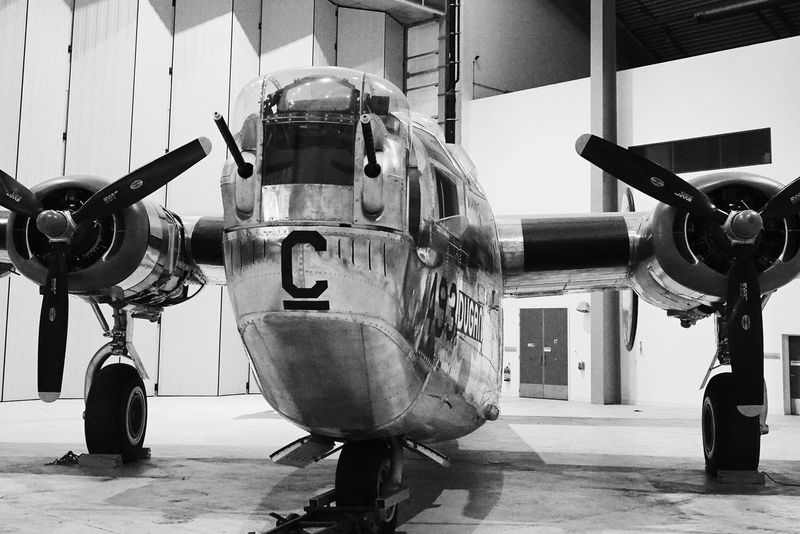Consolidated B-24M Liberator Military Warplane Militaryaviation Olympus OM-D EM-1 EyeEmBestPics EyeEmBestEdits Blackandwhite Photography Eyeemphotography Shades Of Grey Black&white