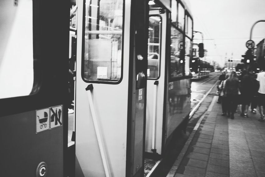 Hey teacher ... Tram Taking Photos Public Transportation Streetphotography Reedit Enjoying Life Public Transport Afternoon Working Back Home Going Returning Home My Neighborhood Blackandwhite Black & White Street Photography Snapshot Snapshots Of Life Bnw_friday_eyeemchallenge On The Way