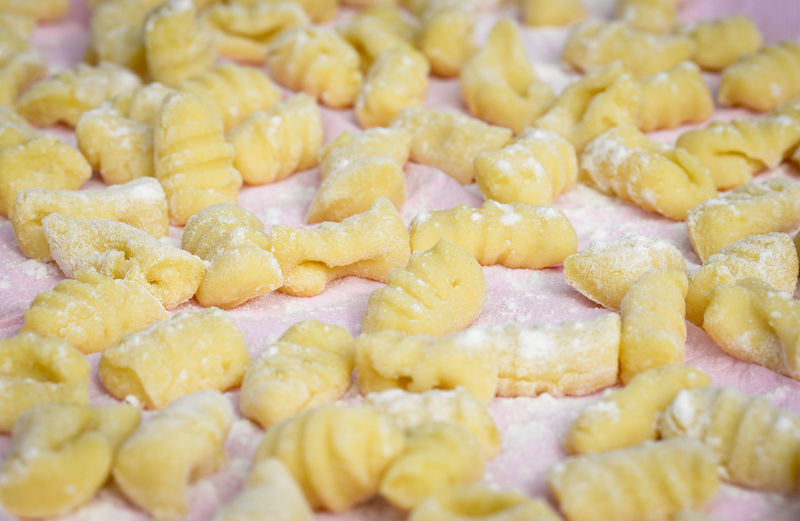 Fresh home made gnocchi Backgrounds Close-up Day Food Freshness Full Frame Gnocchi Handmade For You Healthy Eating Homemade Indoors  Italian Food Large Group Of Objects Meal Ready-to-eat Rome Traditional