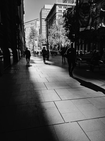 """""""Long, long day"""" Street Photography People Watching Light And Shadow My Daily Commute City Life City City Street Walking Silhouette Adult People Pedestrian Day Outdoors"""