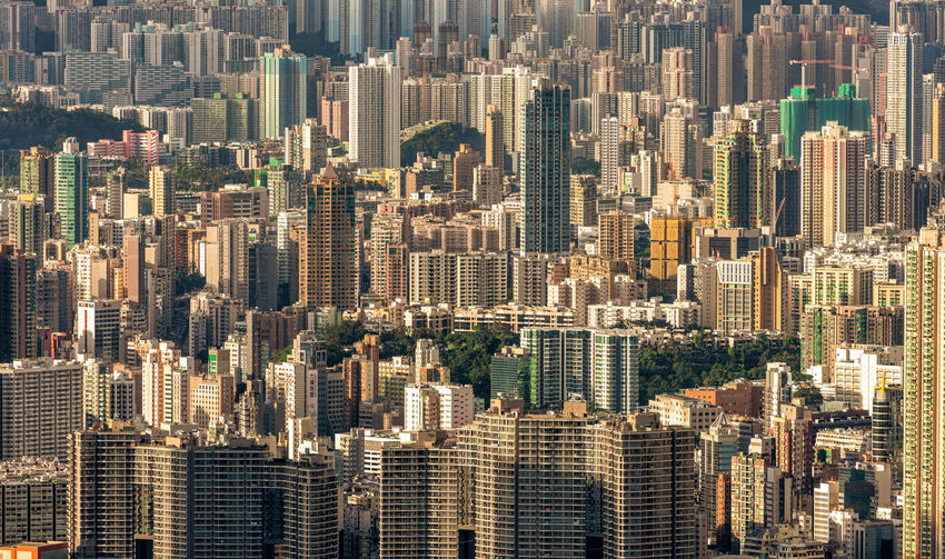 Kowloon, Hong Kong skyline City Cityscape Building Exterior Office Building Exterior Skyscraper Building Built Structure Architecture Residential District Aerial View Modern City Life Tall - High Landscape High Angle View Tower Office Urban Skyline No People Outdoors Apartment Kowloon Hong Hong ASIA Crowded Real Estate Urban The Architect - 2019 EyeEm Awards