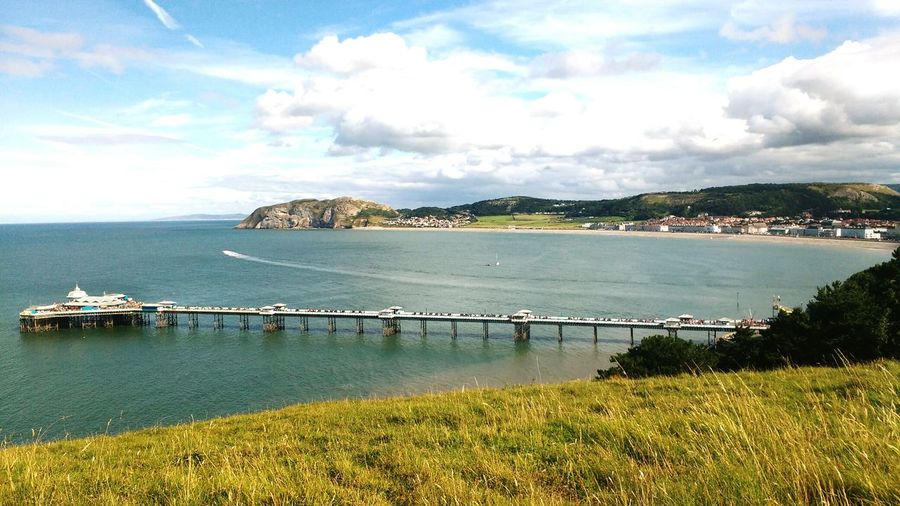 Great Orme Wales❤ Llandudno Pier Sunny Day Love To Take Photos ❤