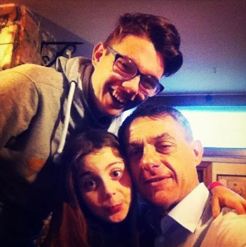 My dad and my sister :)