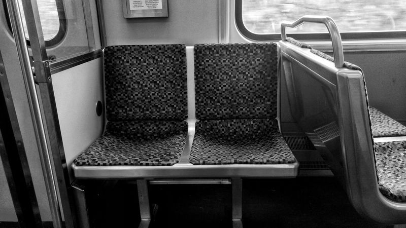Morning Commute Dallas Photography Monochrome Black And White Oakcilff Train Editorial  Morning Chair Seat The Street Photographer - 2018 EyeEm Awards