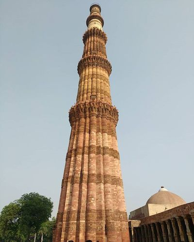 Once again Qutabminar Sightseeing Delhi Travel Instaclick and Unedited