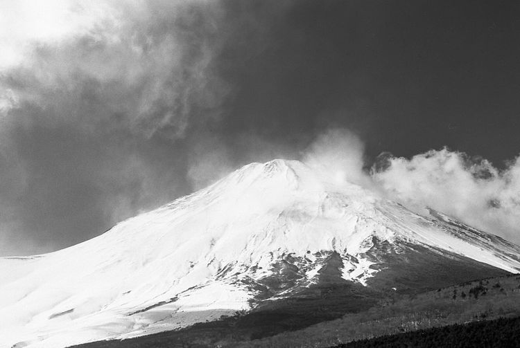 The Great Outdoors - 2016 EyeEm Awards Mountains Mountain Mountain View Mountains And Sky Mount FuJi Film From My Point Of View Monochrome 35mm Film Japan Filmisnotdead Mt Fuji Nature Photography Landscape