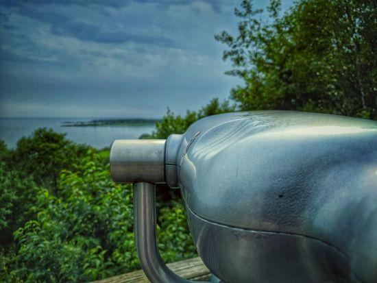 Water No People Tranquility Day Outdoors Nature Coin-operated Binoculars Sky Close-up Vista Pit Stop Roadside Michigan Lake Lake Michigan
