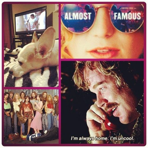 """You guys enjoy the Superbowl (- post the best commercials to my Facebook though.) I'm watching one of my favorite movies (with arguably the best soundtrack of all time) in memory of a great actor. Because """"The only true currency in this bankrupt world is what we share with someone else when we're uncool."""" RIPPhilipSeymourHoffman AlmostFamous Rocknroll"""