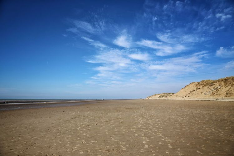 Formsby Beach Formsby Beach Liverpool Sky Land Scenics - Nature Tranquil Scene Beauty In Nature Tranquility Sand Beach Cloud - Sky Sea Water Desert Non-urban Scene Horizon Nature Blue No People Environment Day Horizon Over Water Arid Climate Climate Salt Flat