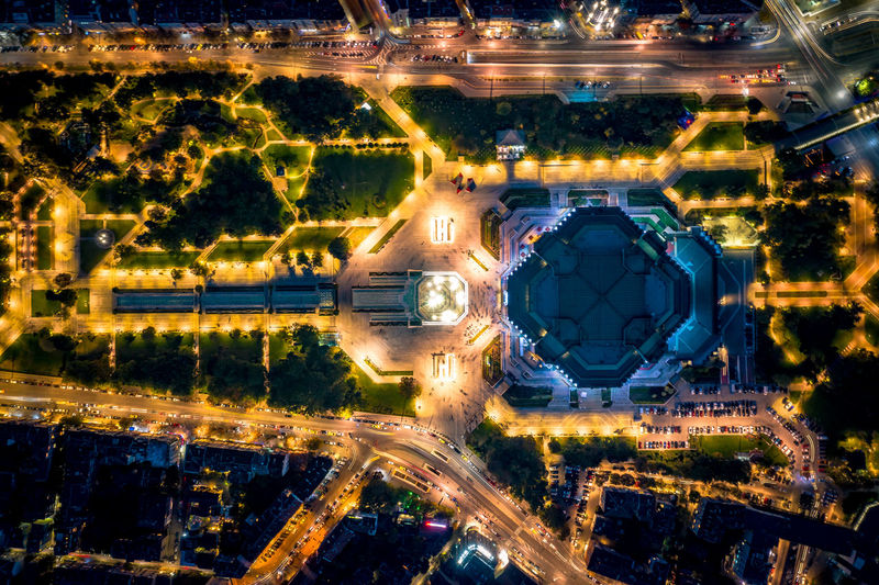Sofia tonight 3 EyeEm Selects Mavic2pro Sofia, Bulgaria Urban Geometry Aerial View Architecture Backgrounds Building Exterior Built Structure Bulgaria Capital Cities  City Cityscape Directly Above Dronephotography High Angle View Illuminated Long Exposure Night Outdoors Park Park - Man Made Space Sofia Transportation Travel Destinations