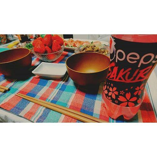 ∴ペプシ🌸SAKURA ペプシ Sakura ペプシサクラ 食卓 Instagood 315