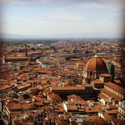 쿠폴라에서 바라본 피렌체... 오! 아름다운 피렌체여! 피렌체 Firenze Cupolasantamariadelfiore 쿠폴라 Cupola