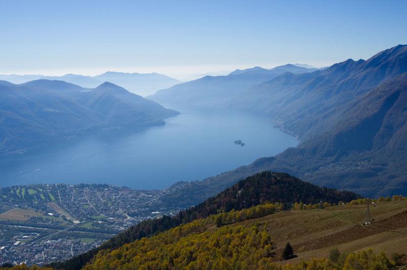 Autumn in Ticino (Switzerland) Autumn Nature Panorama Ascona Brissago Brissago Islands Day Eternity Lago Maggiore Landscape Locarno No People Outdoor Photography Outdoors