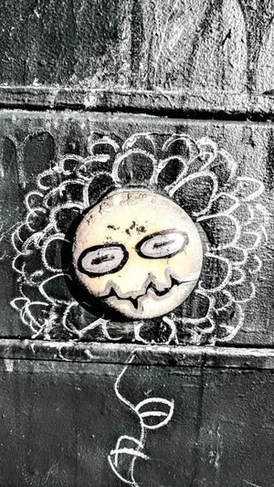Close-up of smiley face