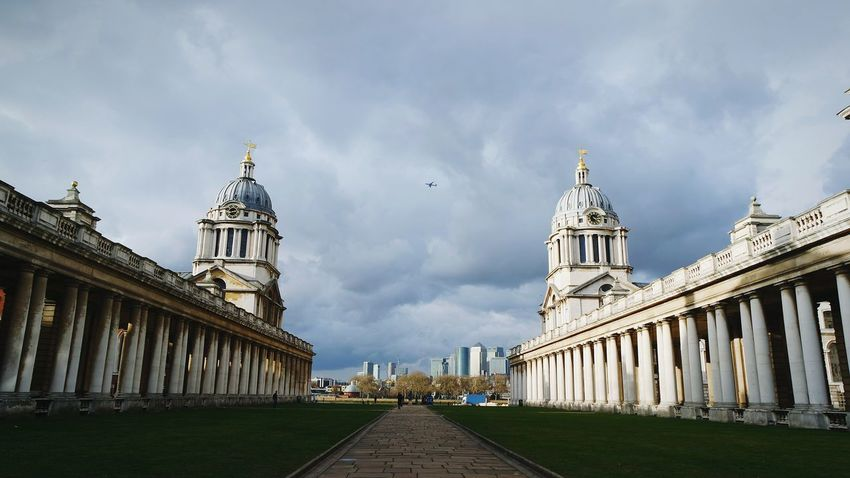 21st Birthday! Greenwich Naval College EyeEm Best Shots London Sunlight Low Angle View