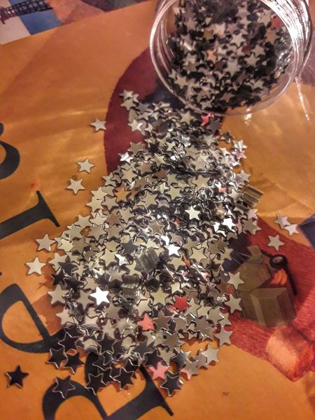 Lieblingsteil Silver  Stars Work Detail Handmade DIY Fashion Inprogress