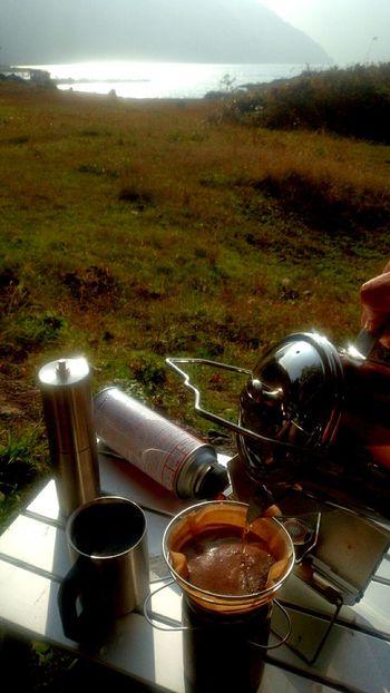 湖畔コーヒー 本栖湖 Coffeetime Motosuko Coffee Lake