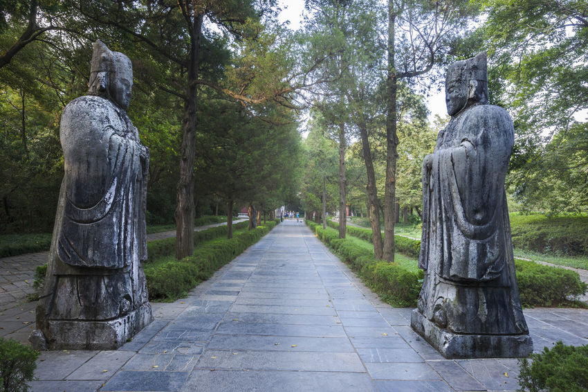 Hidden Gems-Nanjing Ming Xiaoling mausoleum Cemetery History Ming Xiaoling Mausoleum Monuments Nanjing Relic Shinto Tourist Attractions Tourist Destination Zhu Yuanzhang Famous Hidden Gems  Ming Dynasty Statue The Civil Service The First Emperor The Mausoleum Tourism Tranquility Travel Destinations