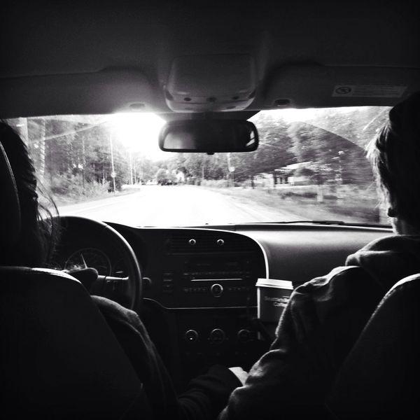 Blackandwhite Travel Road Trip Monchrome