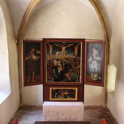 Altar im Merseburgerdom
