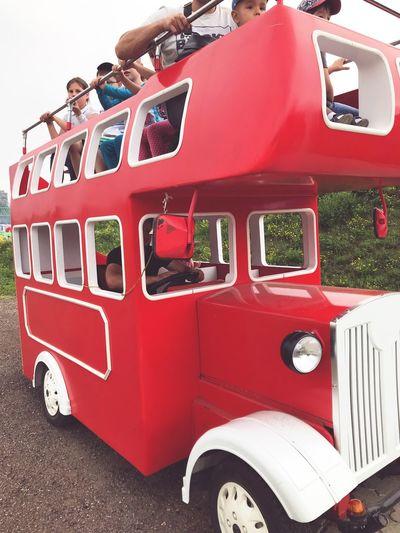 Land Vehicle Mode Of Transportation Red Transportation Day Nature Stationary Sky Street City Bus Motor Vehicle