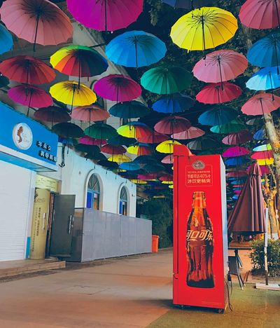 Multi Colored Architecture No People Art And Craft Built Structure Decoration Lantern