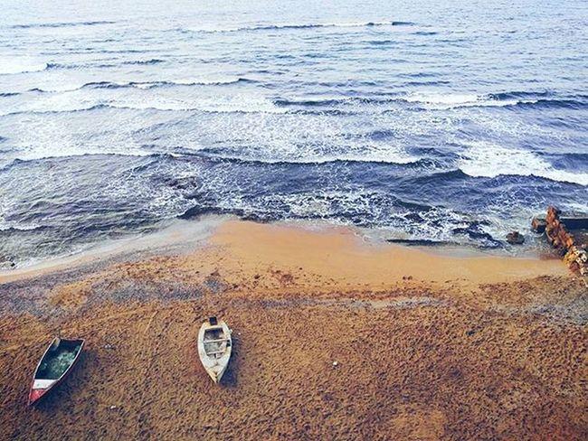 رويـدكَ إنَّالموجَفيالبحرِصاخبُ. Sea Sand Ship Mobilephotography Picsart Winter Blue Colors FWAS Fwis Waves How Do We Build The World?