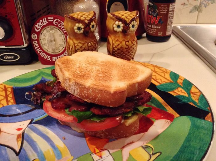 Food Sandwich Bacon Sandwich Lettuce Tomato BLT Sandwitch Owls Root Beer