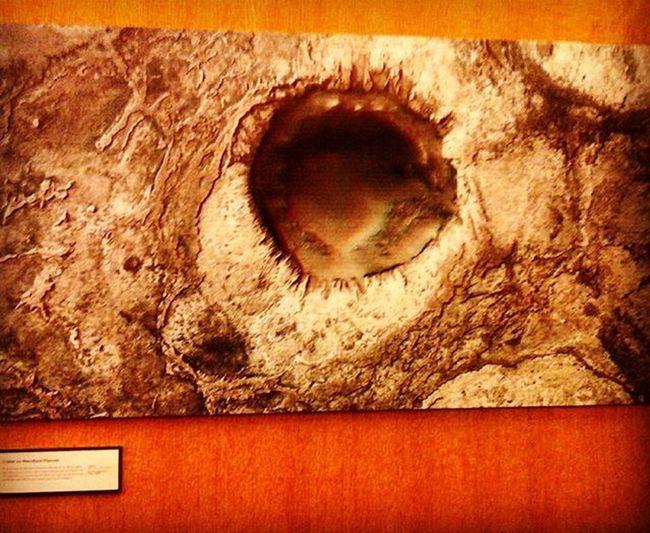 Marte en 3D Crater Papirolas2016 Astronomíaytuyatambién