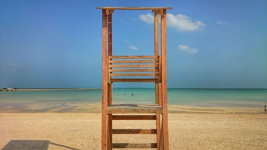 Taking Photos Hanging Out Check This Out Beautiful Beach Beachphotography Beachguard gone missing Doha,Qatar