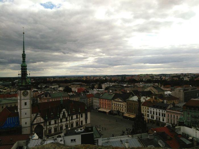 Traveling Erasmus Photo Diary Landscape Landscape_lovers Ladscapephotography Landscape_Collection Czech Republic Olomouc Panoramic View