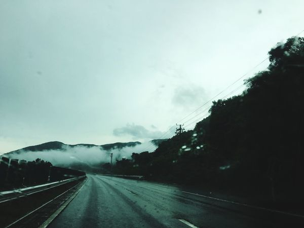 The Way Forward Transportation Road Weather No People Nature Day Sky Windshield Mountain Tree Landscape Outdoors Scenics Beauty In Nature Clear Sky EyeEmNewHere