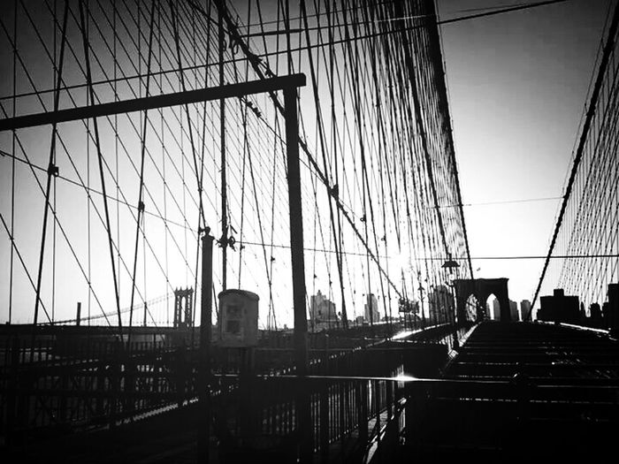 Brooklyn Bridge / New York Brooklynbridge Bigapple NYC Photography Mas New Que York The Traveler - 2015 EyeEm Awards