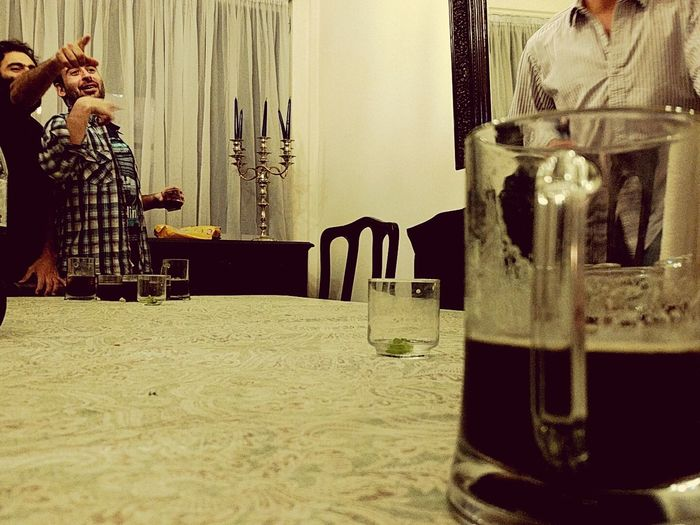 Fernet-pong + Vodkapeño-glass First Eyeem Photo