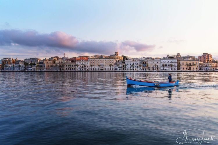 Sea Vacations Outdoors Beach Travel Destinations No People Water Day Architecture Sunset Building Exterior Sky Nautical Vessel Horizon Over Water Cityscape City Nature Cityscape Sea And Sky City Southitaly Seascape Photography Postcard Italy EyeEmBestPics
