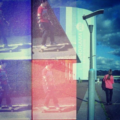 Igersrouen Igersfrance Rouen Streetphotographie Streetphotography Urbanlandscape Paysage Architecture Lomo Lomographie Lomography Film Analogue Oktomat Oktomatcamera Filmphotography Shootfilm Doubleexposure