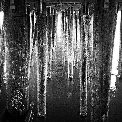 Under the End of the Pier NEM Black&white AMPt_community Repeat Repeat  Oggl