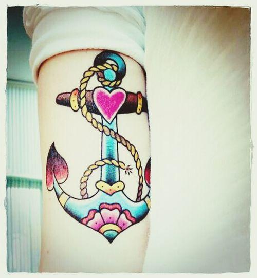 Anchor Tattoo Beautiful