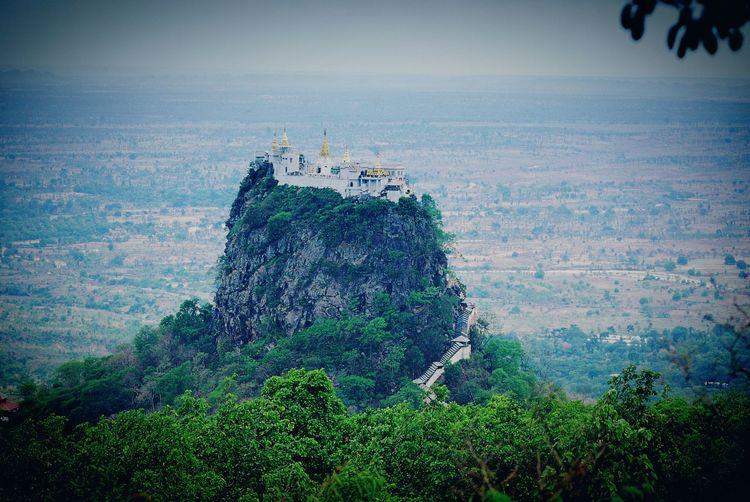 Share Your Adventure Travel Welcome Myanmar Volcano Mont Popa In Myanmar