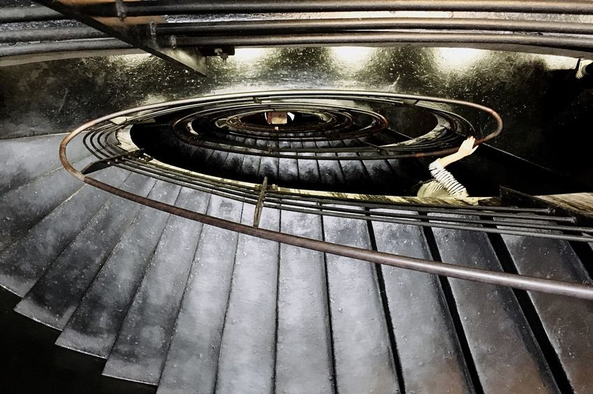 Two is better than one... People And Places Indoors  Railing Steps And Staircases Spiral Staircase Spiral Steps High Angle View Architecture Staircase Repetition The Past Coil Architecture_collection Architecture