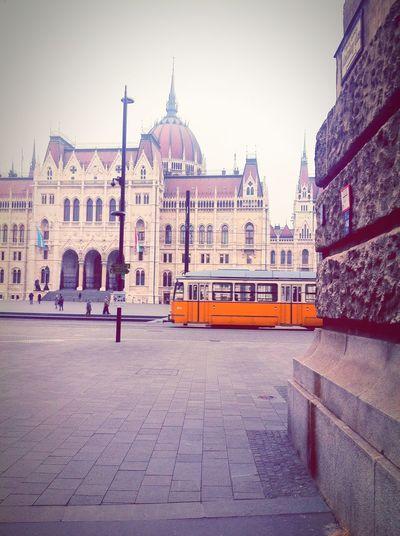 Tram 2⃣🚃 EyeEm Budapest, Hungary Tram Tram Nr.2 Kossuthter Kossuth Square Parliament Hungary Hungry Hungary I <3 You