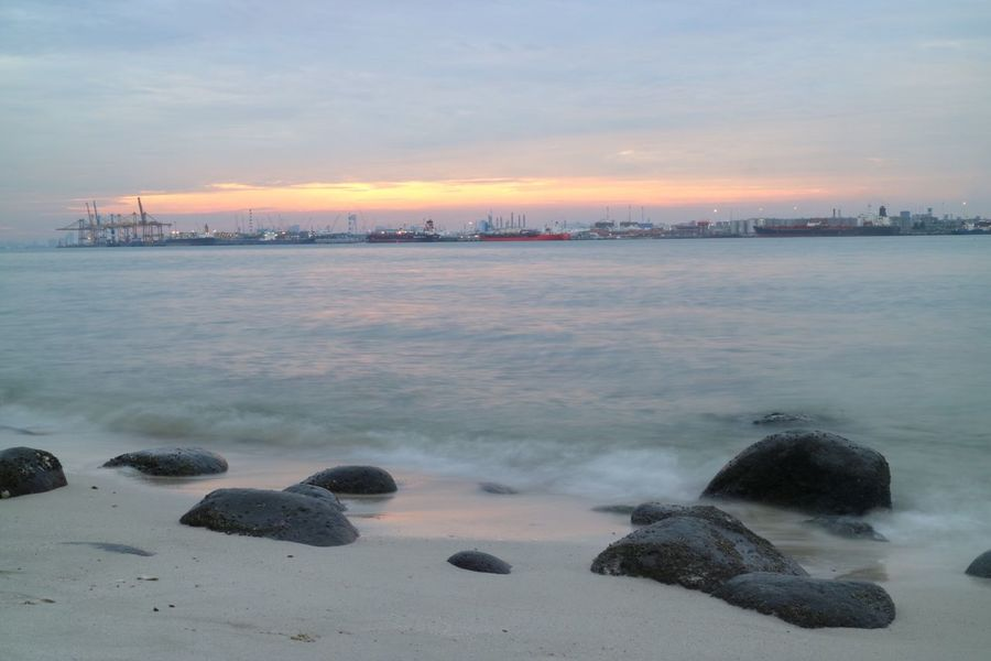 Beach Nature Nparks Nparksbuzz Punggol Po Sea Sky Sunset