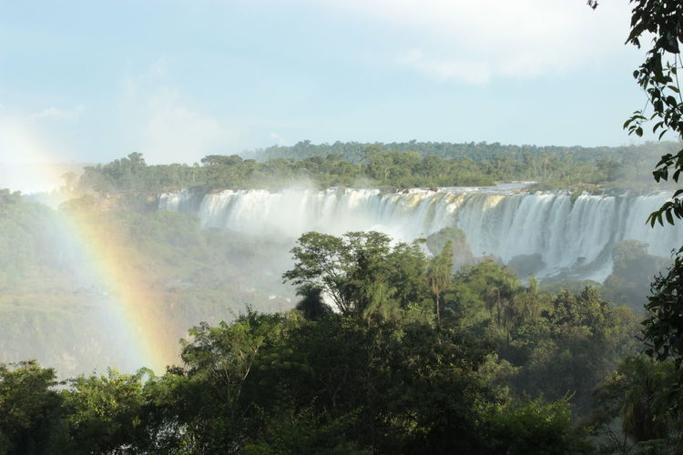 A perfect day at the Iguazú Falls Misiones, Argentina Travel Travel Photography Traveling Argentina Argentina Photography Beauty In Nature Blurred Motion Day Flowing Water Forest Iguazu Falls Nature No People Power In Nature Rainbow Scenics Sky Travel Destination Travel Destinations Traveler Travelphotography Tree Water Waterfall