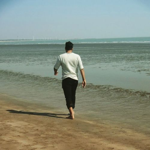Mandvi Beach Blacksand
