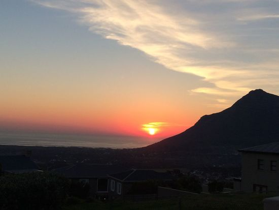 Sweet dreams Sunset Cape Town Noordhoek