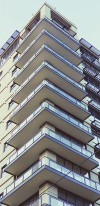 Building Day Glass Concrete Structure City Modern Sky Architecture Building Exterior Built Structure Triangle Shape Architectural Detail Architectural Feature Repetition Geometric Shape LINE Architectural Design Pyramid Shape Architecture And Art