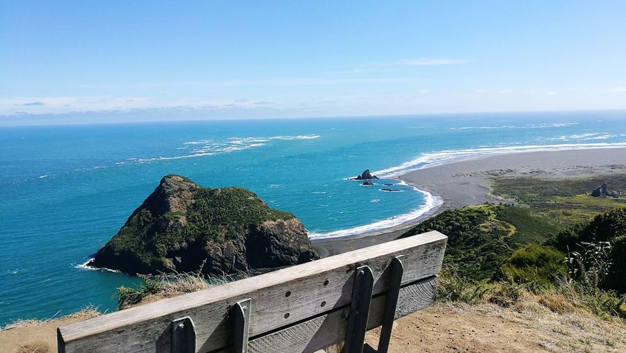 Sea Horizon Over Water Scenics Water Outdoors Day No People Sky Wide Sea View Beauty In Nature NatureAstrology Sign Auckland New Zealand Whatipu NZ Waitakere Regional Park The Great Outdoors - 2017 EyeEm Awards The Great Outdoors Lost In The Landscape