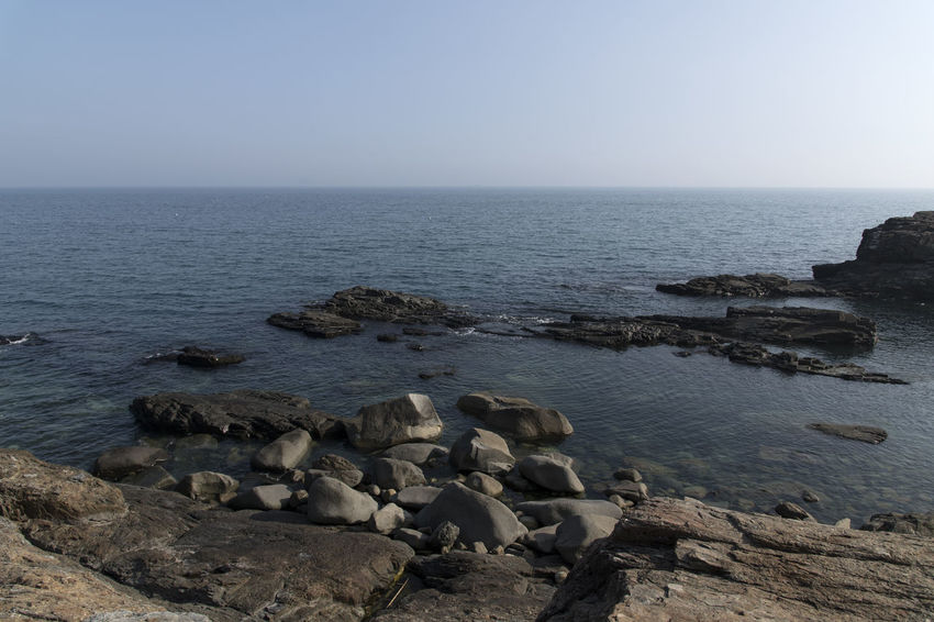 seaside view of Gacheon Daraengie Maeul in Namhae, Gyeongnam, South Korea. Taken with Nikon D850 Namhae Nature's Bounty Nikon D850 Outdoor Pictures South Korea Tranquility Transportation Beauty Of Nature D850 Horizon Over Sea Outdoor Pursuit Outdoors Photograpghy  Sea And Sky Sea Rocks Seascape Seaside Town Seaside View Tranqui Travel Destinations Outdoors Relaxation